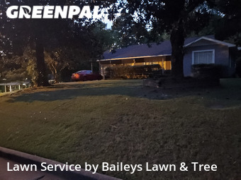 Yard Mowingin Longview,75601,Lawn Care by Baileys Lawn & Tree , work completed in Oct , 2020