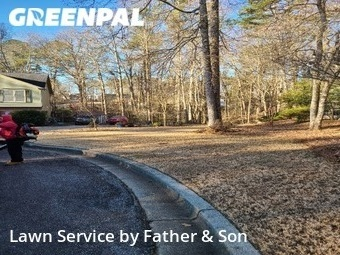 Yard Cutting in Buford, 30519, Lawn Maintenance by Father & Son, work completed in 20 Jan, 2021
