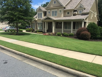 Yard mowing company in Dallas , GA, 30157