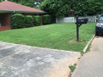 Yard mowing company in Atlanta, GA, 30310