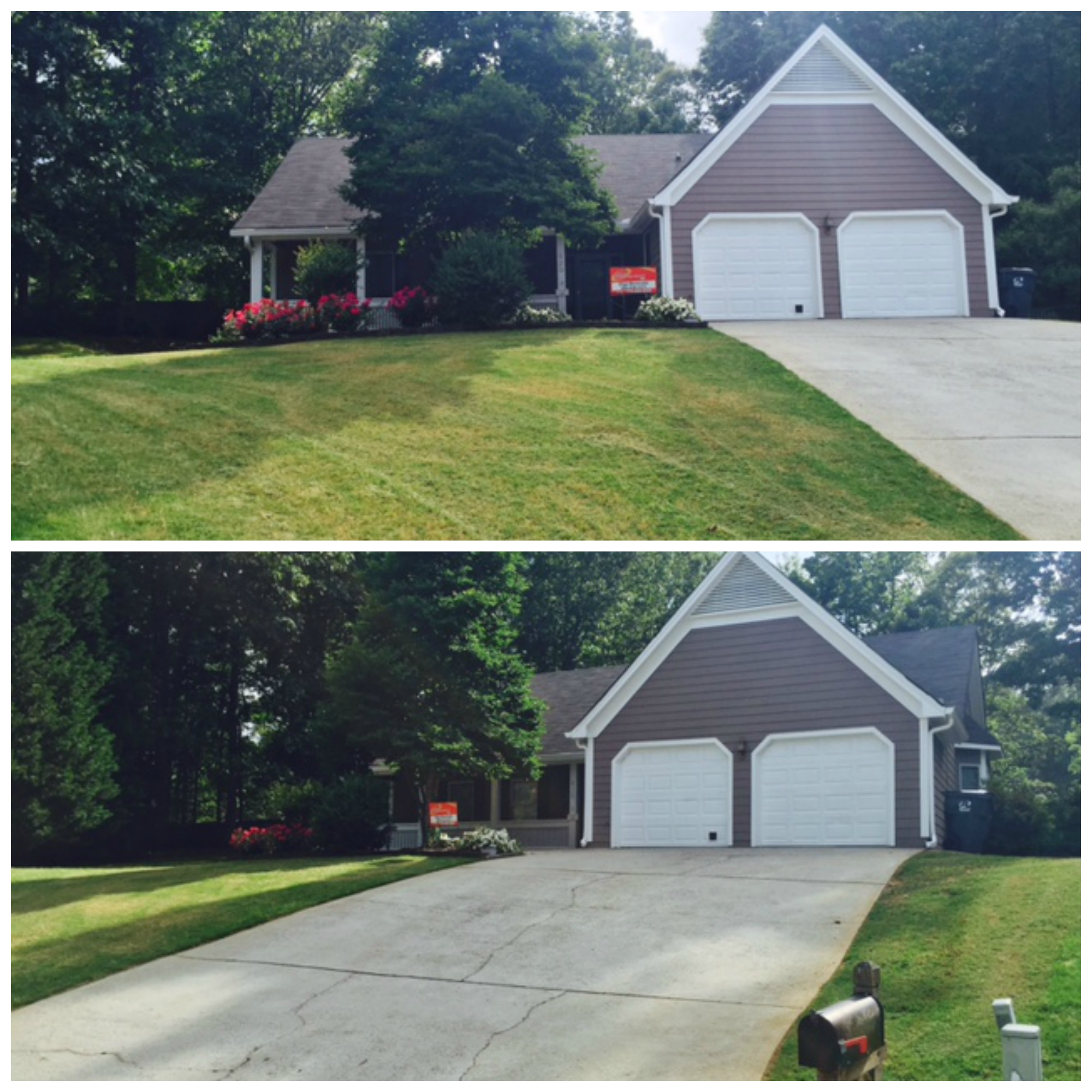 Yard mowing company in Lawrenceville, GA, 30044