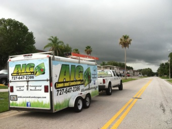 Yard mowing company in Tarpon Springs, FL, 34688