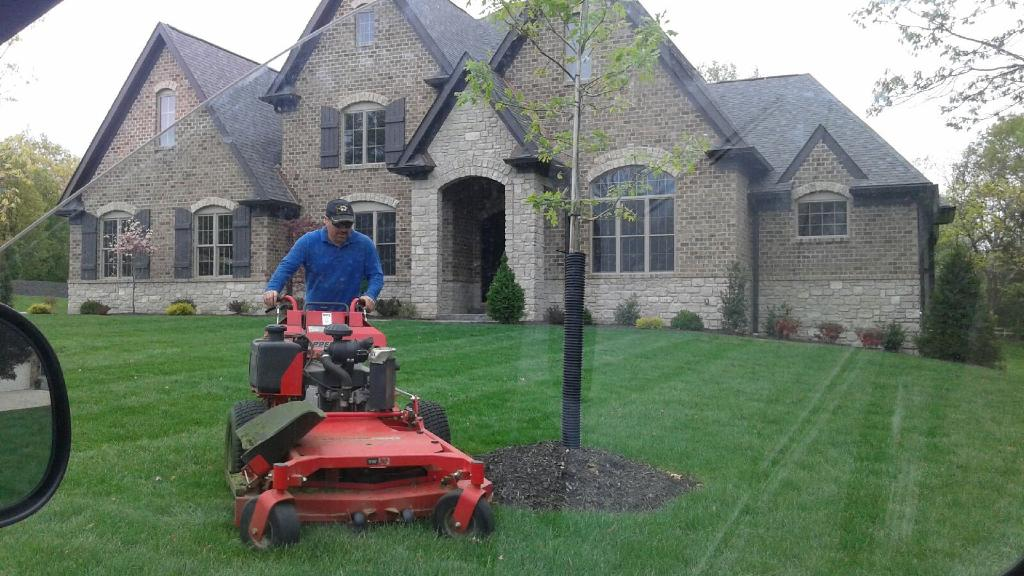 Yard mowing company in St. Louis , MO, 63116