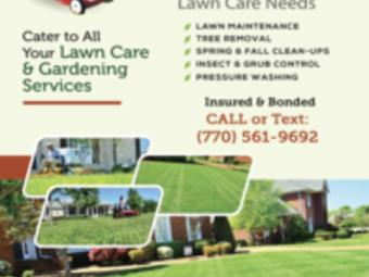 Yard mowing company in Atlanta, GA, 30307