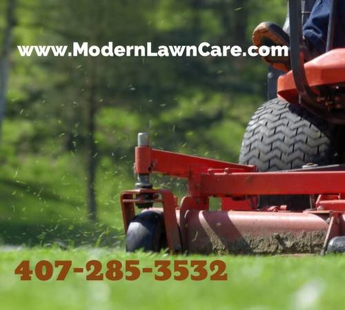 Yard mowing company in Winter Park, FL, 32792