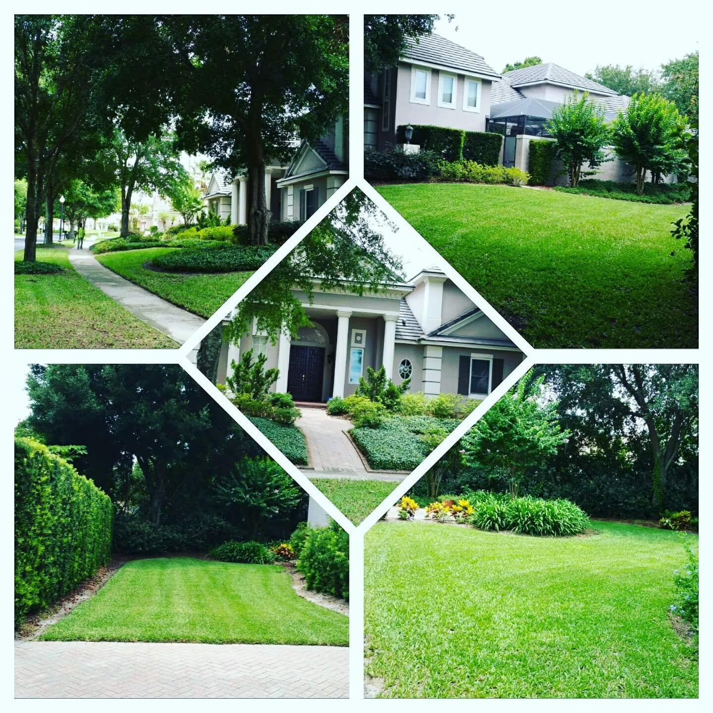 Yard mowing company in Orlando , FL, 32818