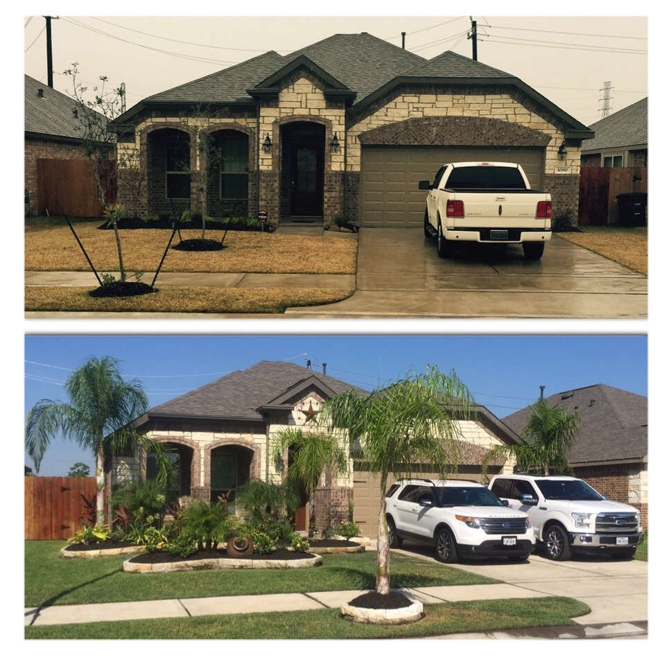 Yard mowing company in Houston , TX, 77034