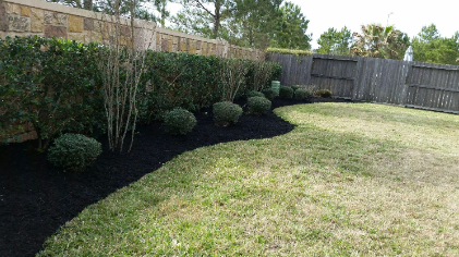 Yard mowing company in Houston, TX, 77055