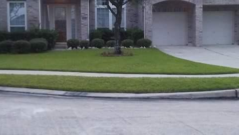 Yard mowing company in Houston, TX, 77028