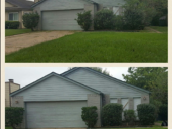 Yard mowing company in Houston, TX, 77083