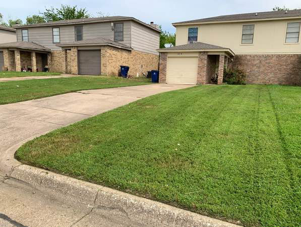 Yard mowing company in Fort Worth, TX, 76126