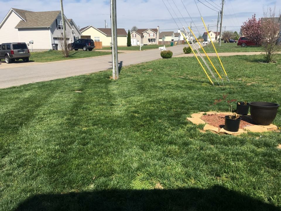 Yard mowing company in Clarksville, TN, 37042