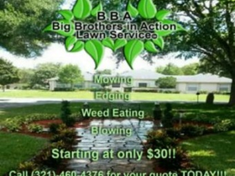 Yard mowing company in Clarcona, FL, 32710