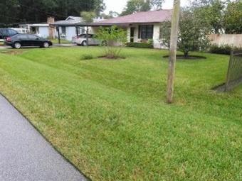 Yard mowing company in Jacksonville, FL, 32254