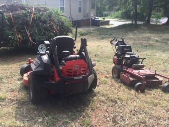 Yard mowing company in Atlanta, GA, 30314