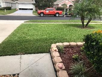 Yard mowing company in Orlando, FL, 32827