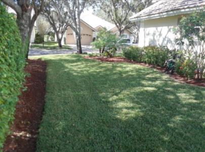 Yard mowing company in North Fort Lauderdale, FL, 33068
