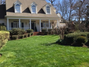 Yard mowing company in Raleigh, NC, 27614