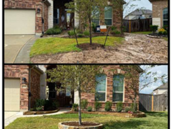 Yard mowing company in Houston, TX, 77070