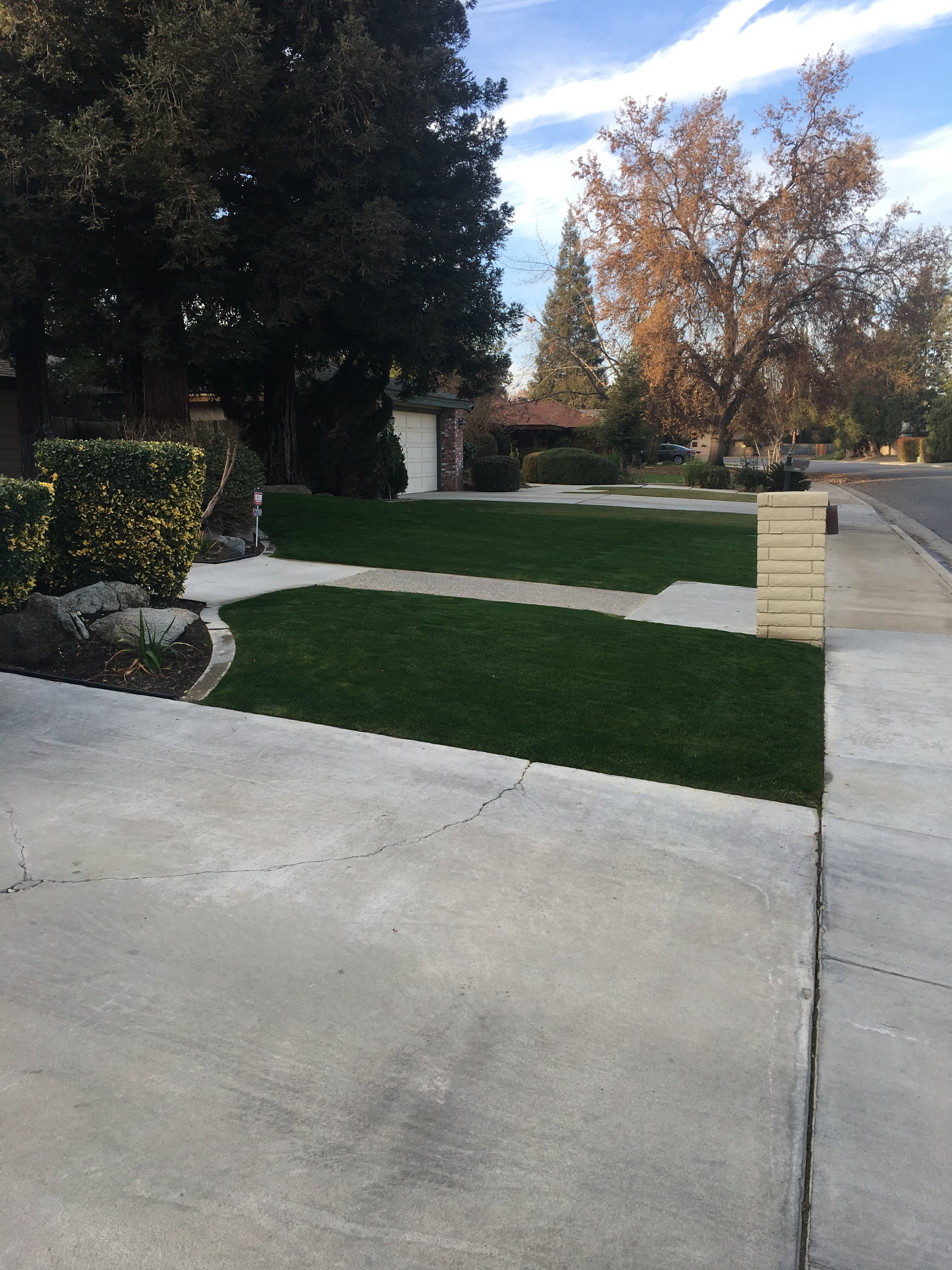 Yard mowing company in Bakersfield , CA, 93301