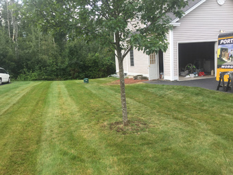Yard mowing company in Goffstown , NH, 03045