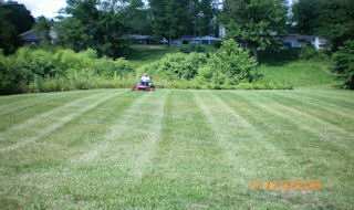 Yard mowing company in Bethel, OH, 45106