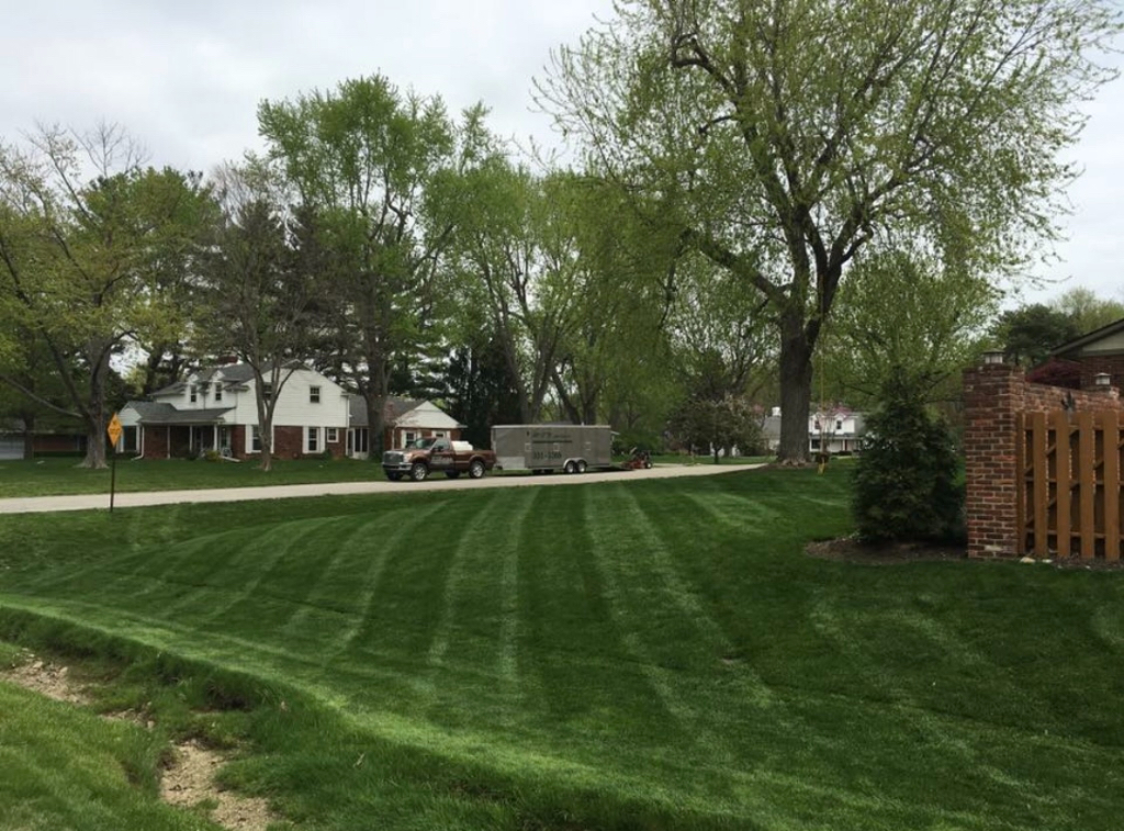 Yard mowing company in Indianapolis , IN, 46240