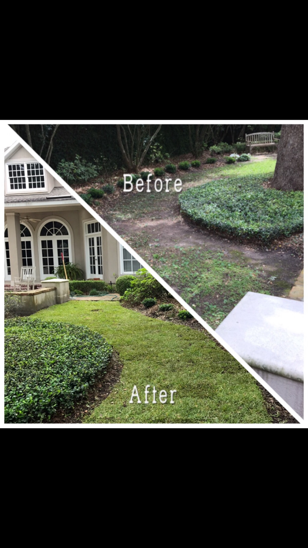 Yard mowing company in Houston , TX, 77009
