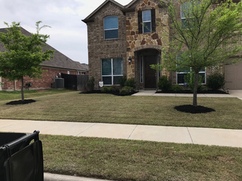 Yard mowing company in Little Elm, TX, 75068
