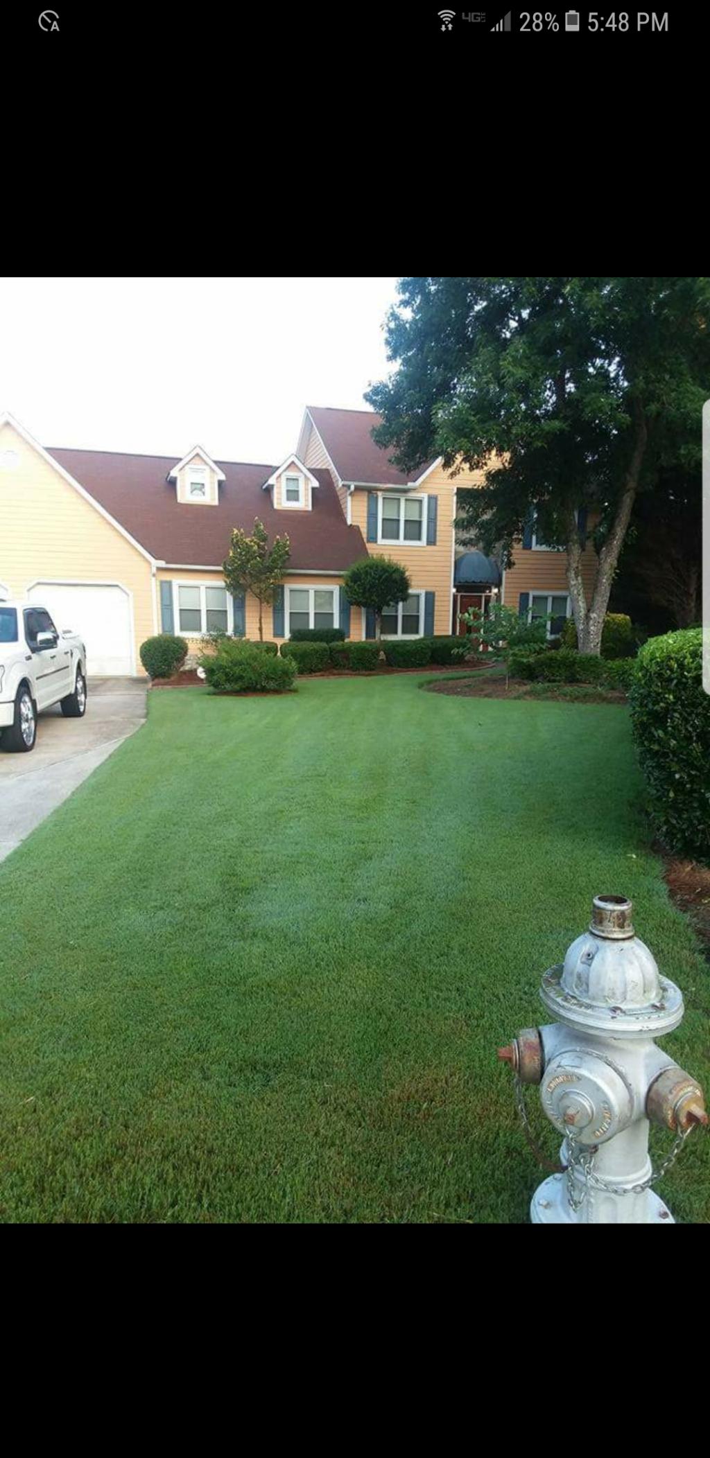 Yard mowing company in Atlanta, GA, 30331