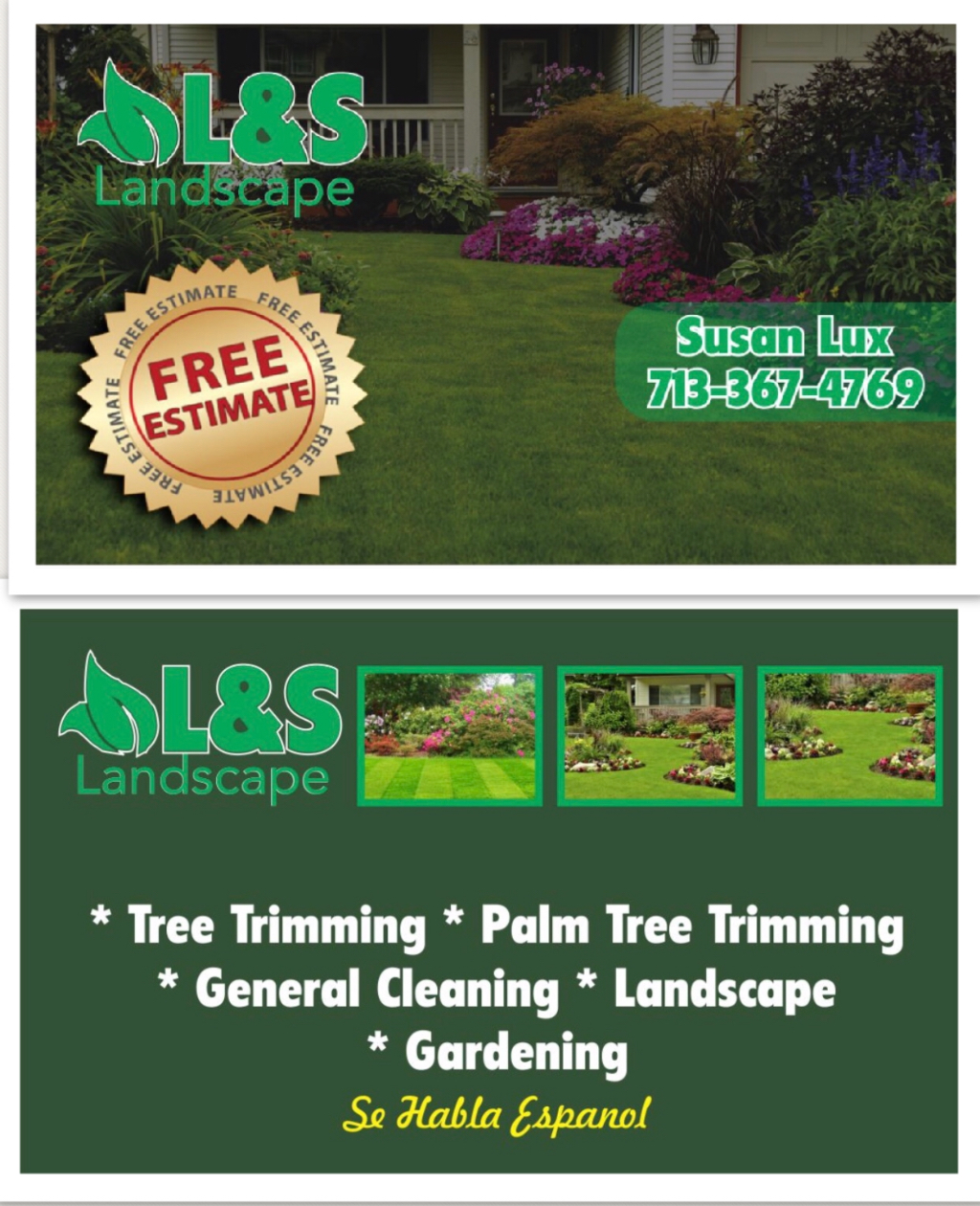 Yard mowing company in Houston , TX, 77042