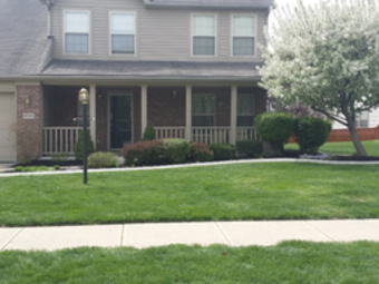 Yard mowing company in Indianapolis, IN, 46222