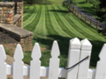 Yard mowing company in Cincinnati , OH, 45216