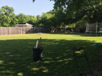 Yard mowing company in Austin, TX, 78753