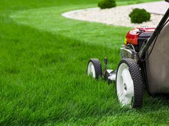 Yard mowing company in Houston, TX, 77092