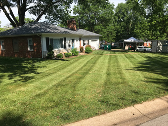 Yard mowing company in Webster Groves, MO, 63119