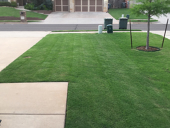 Yard mowing company in Edmond, OK, 73025