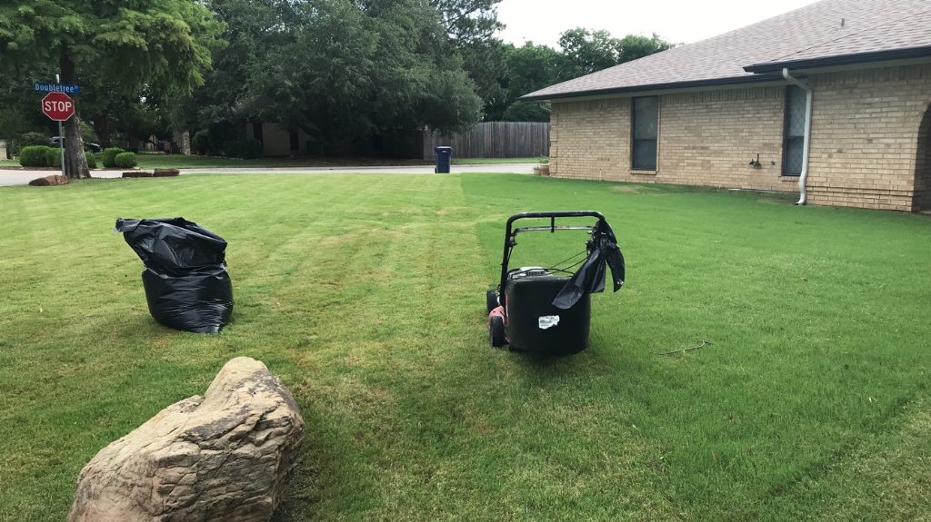 Yard mowing company in Colony, TX, 75056