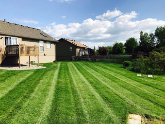Yard mowing company in Kansas City, MO, 64155