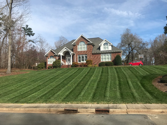 Yard mowing company in Burlington, NC, 27217