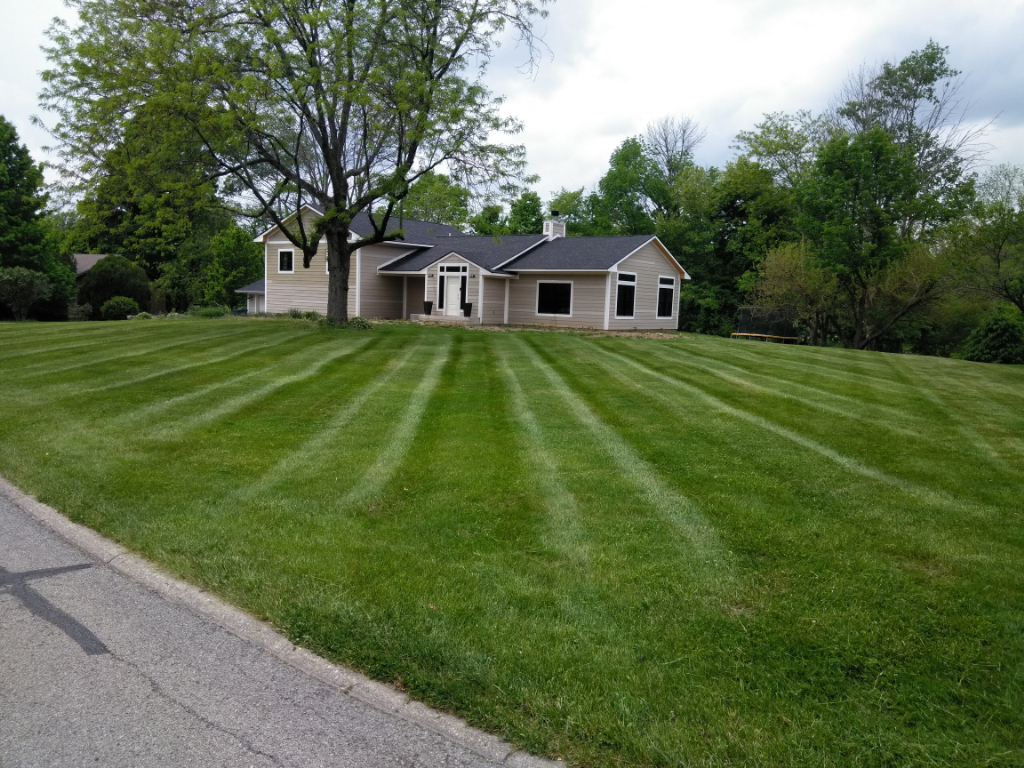 Yard mowing company in Indianapolis, IN, 46219
