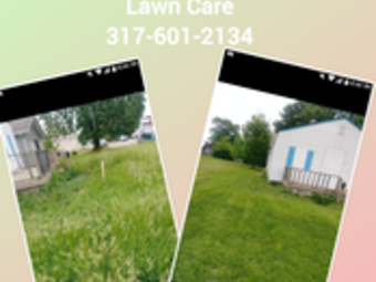 Yard mowing company in Indianapolis, IN, 46241