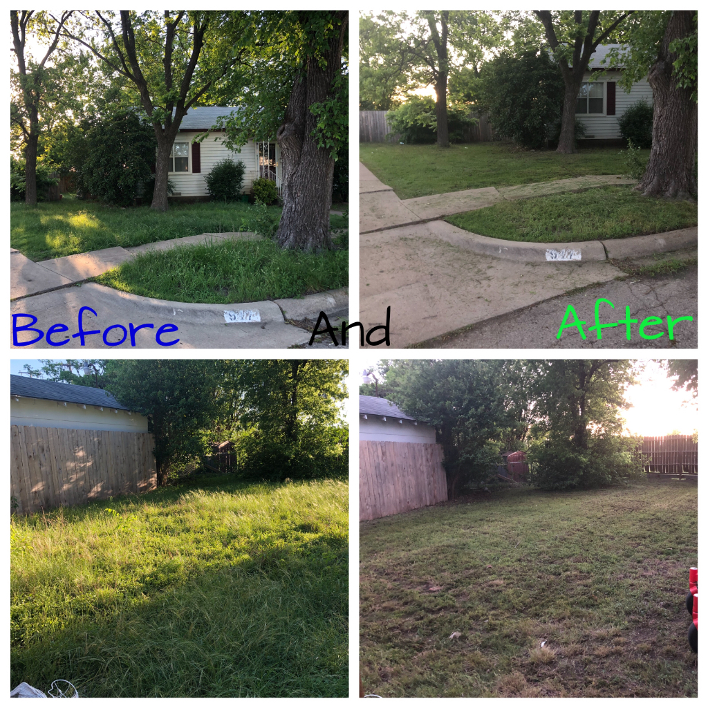 Yard mowing company in Rogers, TX, 76569