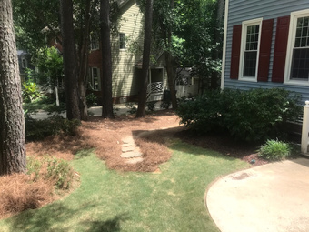 Yard mowing company in Raleigh, NC, 27511