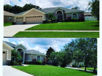 Yard mowing company in Orlando, FL, 32837