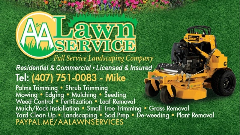 Yard mowing company in Oviedo, FL, 32762