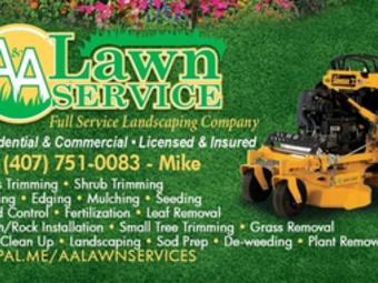 Yard mowing company in Oviedo, FL, 32762