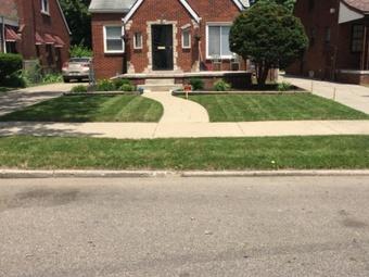 Yard mowing company in Detroit, MI, 48235