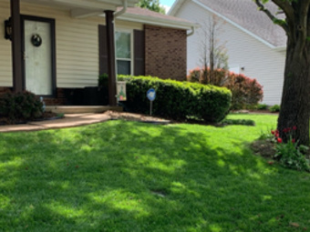 Yard mowing company in St. Louis, MO, 63123
