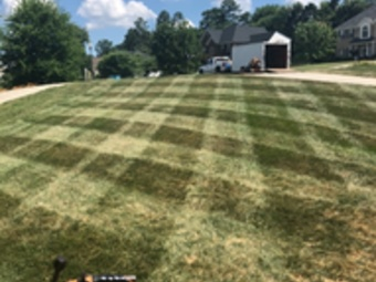Yard mowing company in Wingate, NC, 28174